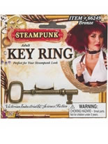 Steampunk Key Finger Ring