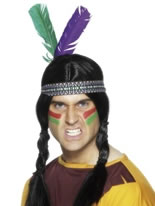 Stretchy Band Indian Headdress