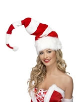 Striped Santa Hat