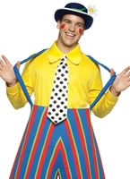 Stripey the Clown Adult Costume