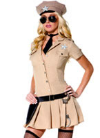 Adult Sultry Sheriff Costume