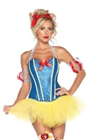 Adult Sultry Snow White Costume
