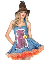 Adult Sunflower Scarecrow Costume [83833]