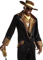 Supa Mac Daddy Pimp Costume [00832]
