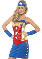 Adult Super Hot Hero Costume