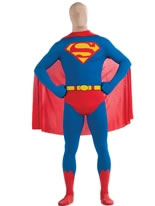 Superman Second Skin Suit