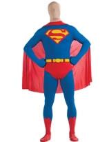 Adult Superman Second Skin Suit [880520]