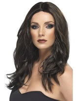 Superstar Wig Dark Brown [42290]