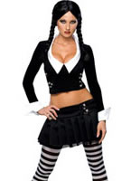 Adult Wednesday Addams Costume [888643]
