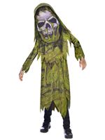 Child Swamp Zombie Big Head Costume