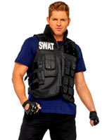 Adult Deluxe SWAT Commander Costume [83682]