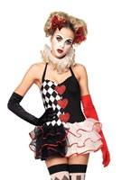Adult Sweetheart Harlequin Costume [83930]
