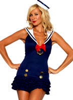 Adult Sweetheart Sailor Costume [83647]