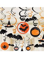 Halloween Swirls Decorations