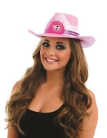 Adult Pink Flashing Take Me Out Cowgirl Hat [FS3726]