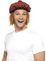 Tam-O-Shanter Hat Tartan Ginger [25251]
