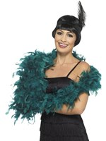 Teal Deluxe Feather Boa