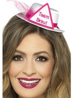 Team Braut Hat with Veil [48047]