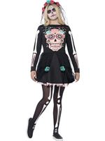 Teen Sugar Skull Sweetie Costume