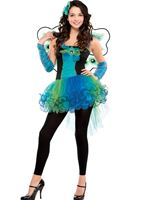 Teen Peacock Diva Costume