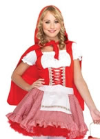Child Deluxe Lil' Miss Red Costume [J48033]