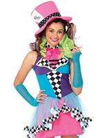 Teen Deluxe Mayhem Hatter Costume [J49102]