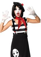 Teen Miss Mime Costume [J49073]