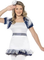 Teen Miss Sailor Girl Costume