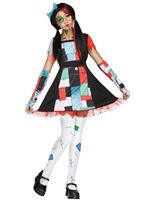 Teen Rag Doll Costume [124752]