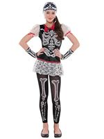Teen Sassy Skeleton Costume