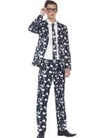 Teen Skeleton Suit Costume [44217]