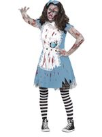 Teen Zombie Tea Party Costume