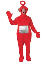 Adult Teletubbies Po Costume [880867]