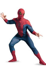 Adult The Amazing Spiderman Costume Plus Size [42499C]