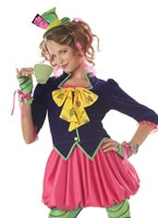 Teen Mad Hatter Costume [04016]