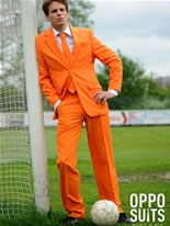 Adult Orange Oppo Suit