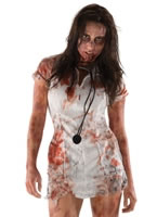 The Walking Dead Zombie Nurse Costume [880388]