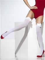 Thigh High Stockings White