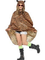 Tiger Party Poncho Festival Costume