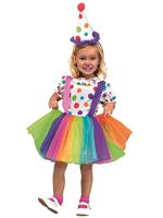 Child Big Top Fun Clown Costume [111091]