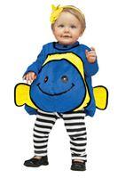 Toddler Blue Giddy Goldfish Costume
