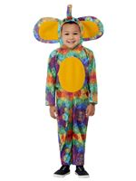 Toddler Colourful Elephant Costume