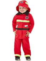 Toddler Fire Fighter Costume [47715]