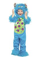 Toddler Lil Blue Monster Costume [116251BL]