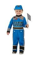 Toddler Racing Car Driver Costume [47716]