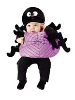 Toddler Plush Silly Spider Costume