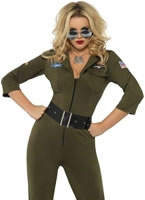 Adult Top Gun Aviator Costume [32811]