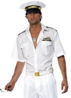 Adult Top Gun Captain Costume [32896]
