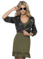 Adult Top Gun Officer Costume [39449]