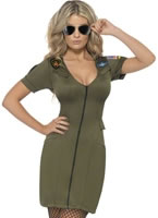 Adult Top Gun Officer Costume [39450]